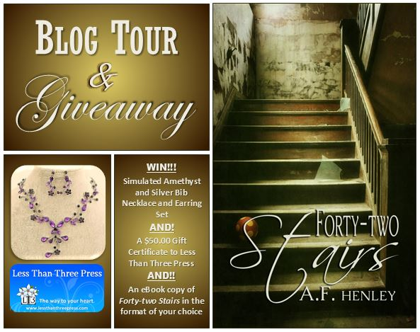 Forty-two Stairs Blog Tour Promo
