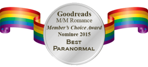 MM Romance Group Nominee Badge - Best Paranormal 2015